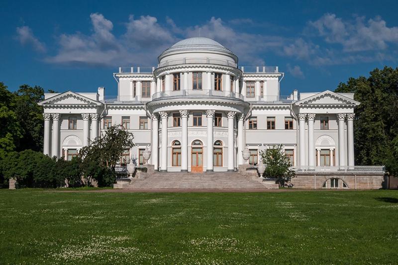 Обложка Елагин дворец